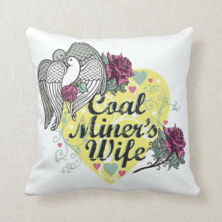 COAL MINER'S WIFE PILLOWS