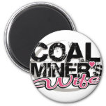 coal miner's wife refrigerator magnets