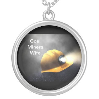 Coal Miners Wife Silver Plated Necklace