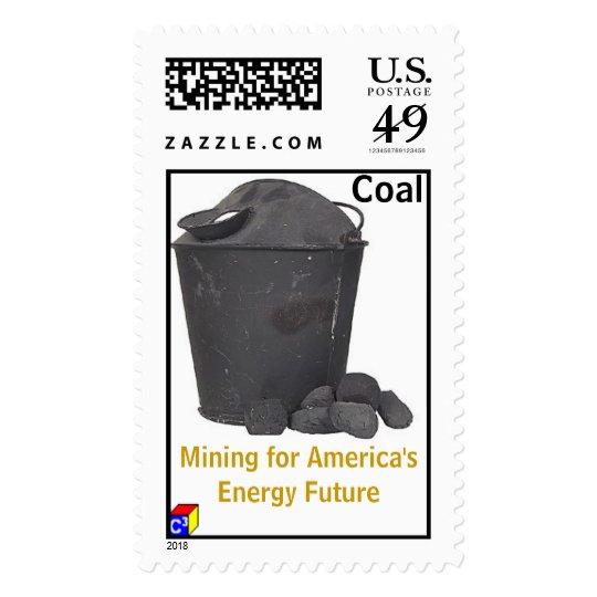 Coal Mining Postage