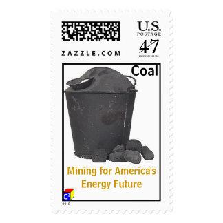 Coal Mining Stamp