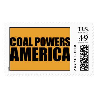 COAL POWERS AMERICA Postage