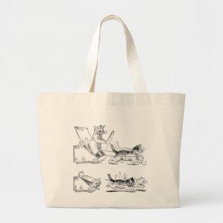 Coal Scuttle Coach Cats Bag