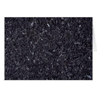 Coal texture card