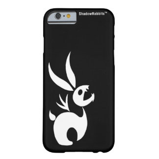 Coal the Shadow Rabbit Barely There iPhone 6 Case