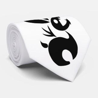 Coal the Shadow Rabbit Neck Tie