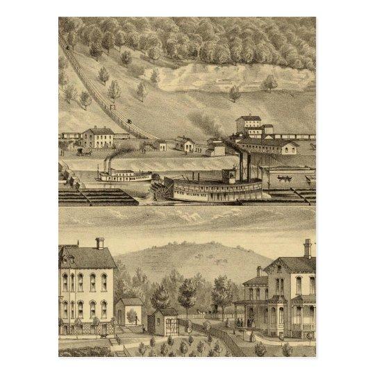 Coal works of O'Neil and Company Postcard