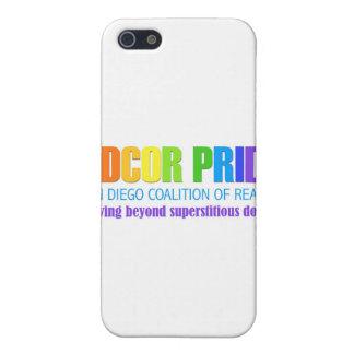 Coalición de San Diego del orgullo de la razón iPhone 5 Fundas