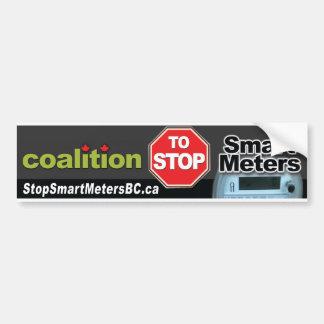 Coalition to Stop Smart Meters Bumper Sticker
