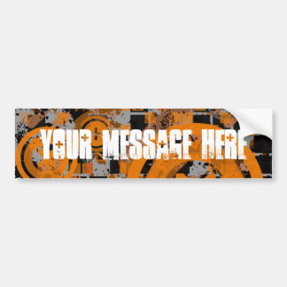 COAlitionz. Customizable Message. Bumper Sticker