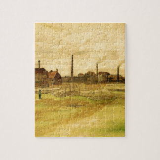 Coalmine in the Borinage by Vincent van Gogh Puzzle