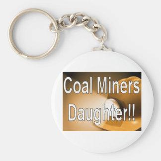 coalminers daughter basic round button keychain