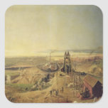 Coalmines and Clay Quarries at Montchanin Square Sticker