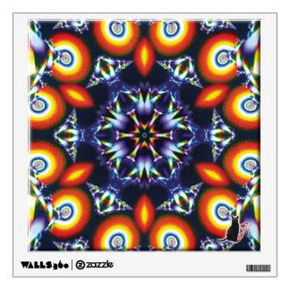 Coals Kaleidoscope Wall Decal
