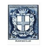 Coar de brazos, Marsella Francia Postal