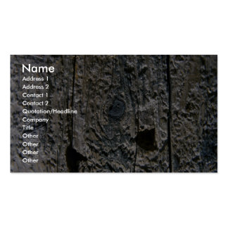 Coarse Metal Business Cards