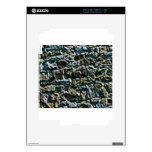 coarse stone wall decal for the iPad 2