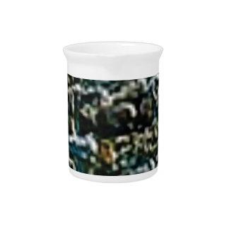 coarse stone wall pitcher