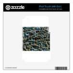 coarse stone wall skin for iPod touch 4G
