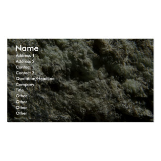 Coarse Texture Business Cards