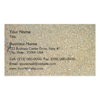 Coarse yellow sand for texture business card templates