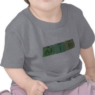Coartada-Al-Yo-BI-aluminio-yodo-Bismuto Camisetas