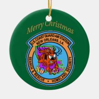 Coast Air Station New Orleans Christmas Ornament