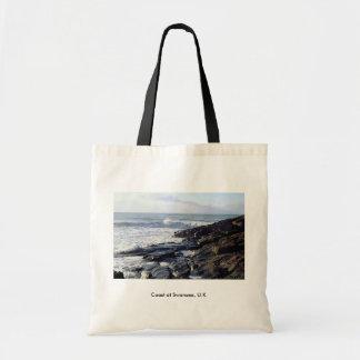 Coast at Swansea, U.K. Tote Bag
