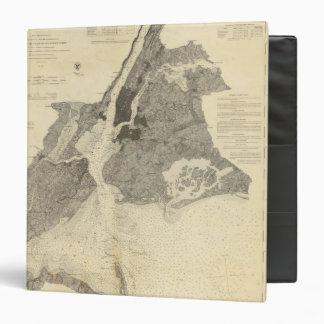 Coast Chart No 20 New York Bay And Harbor 3 Ring Binder