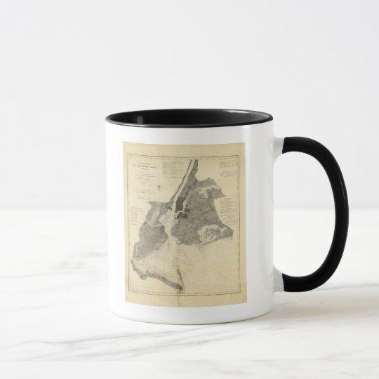 Coast Chart No 20 New York Bay And Harbor Mug