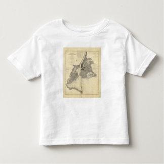 Coast Chart No 20 New York Bay And Harbor Tee Shirt