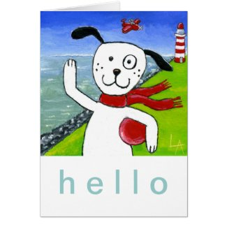 Coast Dog Card