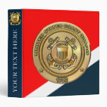 "Coast Guard 1.5"" Binder at Zazzle"