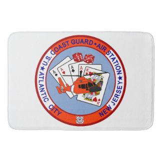 Coast Guard Air Station Atlantic City Bath Mat