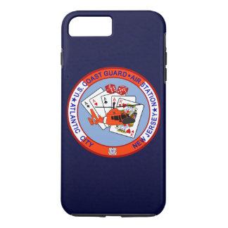 "Coast Guard Air Station Atlantic City ""Navy Blue"" iPhone 8 Plus/7 Plus Case"