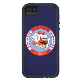 Coast Guard Air Station Atlantic City  Navy Blue iPhone SE/5/5s Case