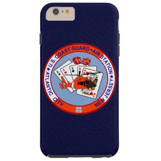 """Coast Guard Air Station Atlantic City """"Navy Blue"""" Tough iPhone 6 Plus Case"""