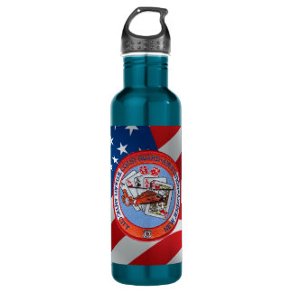 Coast Guard Air Station Atlantic City Water Bottle