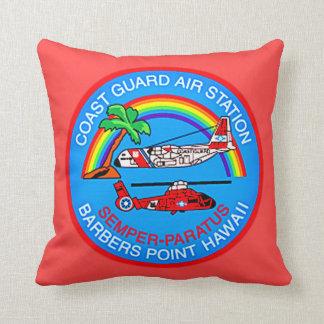 Coast Guard Air Station Barbers Point Hawaii Throw Pillow