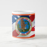 Coast Guard Air Station Cape Cod Jumbo Mug