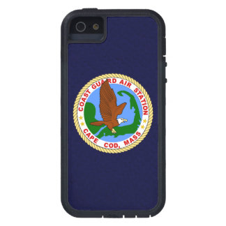 """Coast Guard Air Station Cape Cod  """"Navy Blue"""" Case For iPhone 5"""