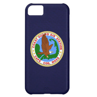 "Coast Guard Air Station Cape Cod  ""Navy Blue"" Case For iPhone 5C"