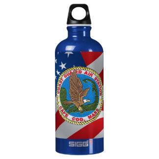 Coast Guard Air Station Cape Cod Water Bottle