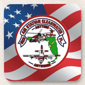 Coast Guard Air Station Clearwater Beverage Coaster