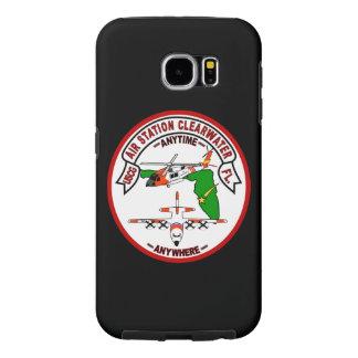 "Coast Guard Air Station Clearwater ""Black Case"" Samsung Galaxy S6 Case"