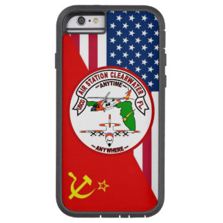 """Coast Guard Air Station Clearwater """"Cold War Paint Tough Xtreme iPhone 6 Case"""