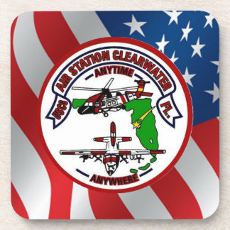 Coast Guard Air Station Clearwater Drink Coaster