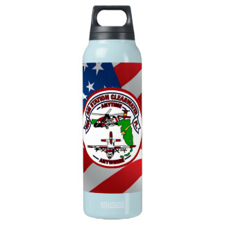 Coast Guard Air Station Clearwater Insulated Water Bottle