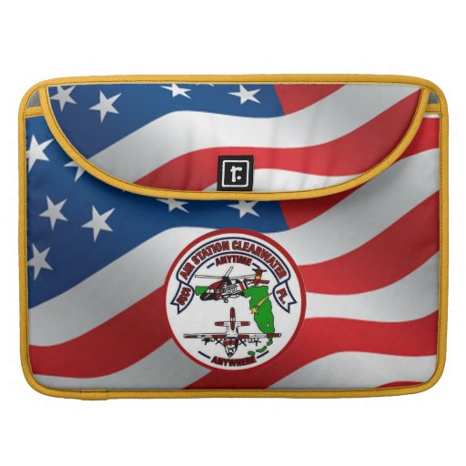 Coast Guard Air Station Clearwater MacBook Pro Sleeve