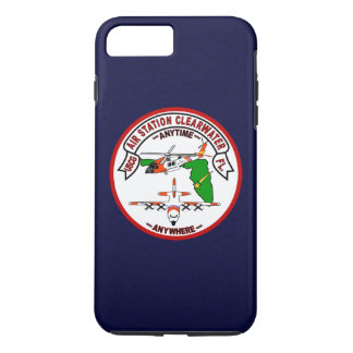 """Coast Guard Air Station Clearwater """"Navy Blue"""" iPhone 8 Plus/7 Plus Case"""
